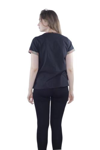 triangle blouse sole oha (black) 3
