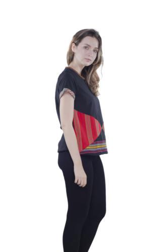 triangle blouse sole oha (black) 4